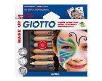 Ansigtsmaling Lyra/Giotto 6 basisfarver + 6 glamourfarver ØKO