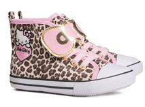 Sneakers, leopardprikkede (Hello Kitty) str. 29